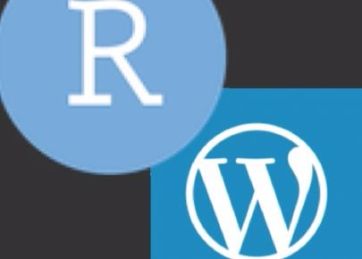R-Markdown to WordPress